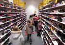 Op bezoek bij de schoenenwinkel